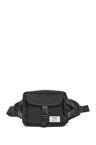 Men Reason Belt Bag at Forever 21  Black - GOOFASH