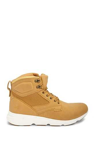 Men Xray Lace-Up Boots at Forever 21  Mustard - GOOFASH