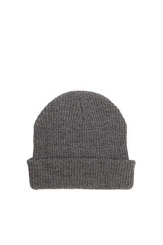 Ribbed Knit Beanie at Forever 21  Heather Grey - GOOFASH