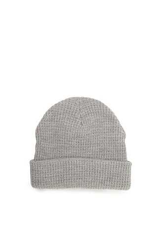 Ribbed Knit Beanie at Forever 21  Light Grey - GOOFASH
