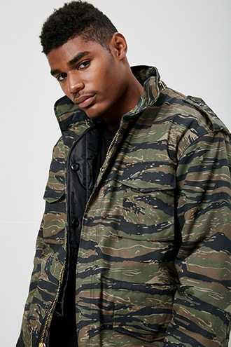 Rothco M-65 Camo Jacket at Forever 21  Olive - GOOFASH
