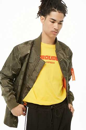 Victorious Bomber Jacket at Forever 21  Olive - GOOFASH