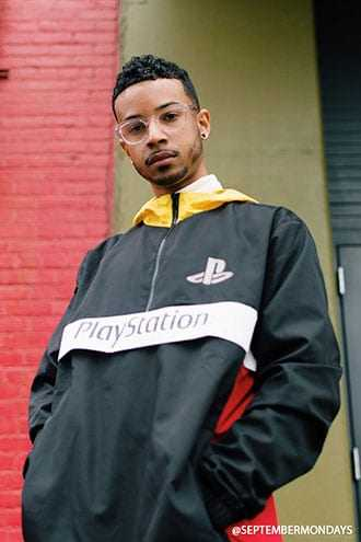 PlayStation Hooded Anorak at Forever 21  Black/multi - GOOFASH