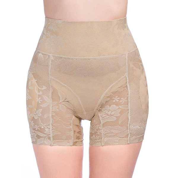 Flower Pattern Shapewear Shorts - Shein - GOOFASH