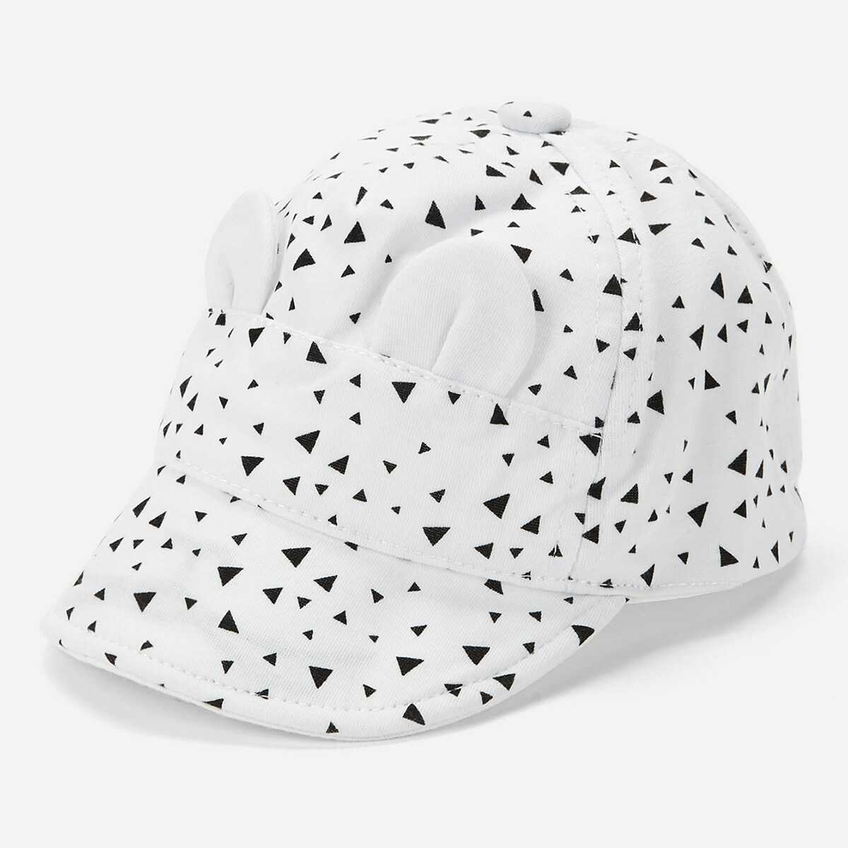 Kids Triangle Pattern Baseball Cap - Shein - GOOFASH