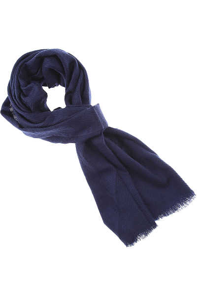032c Scarf for Women Night Blue SE - GOOFASH