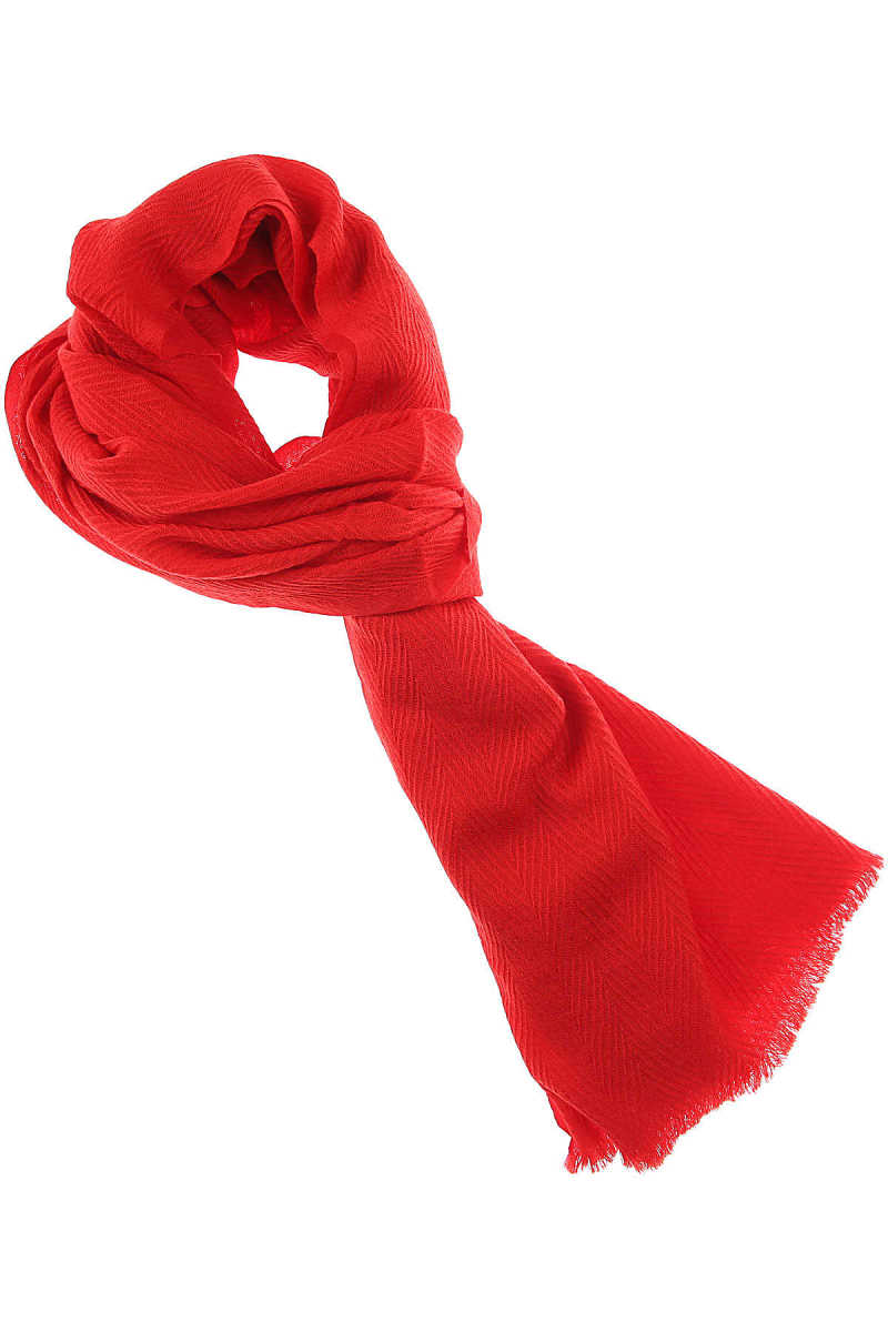 032c Scarf for Women Red USA - GOOFASH