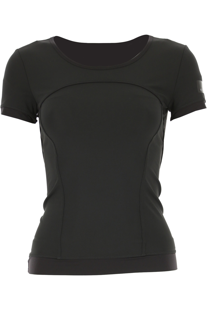 Adidas T-Shirt for Women On Sale in Outlet Black SE - GOOFASH
