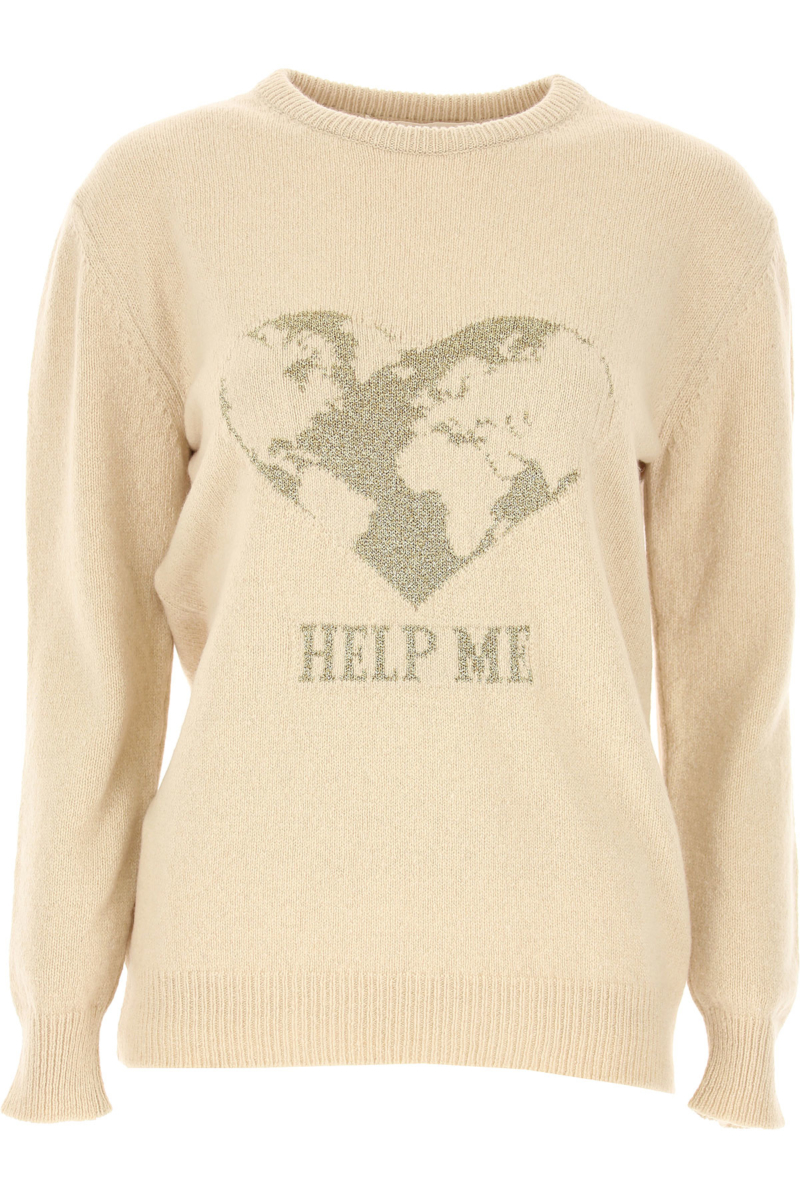 Alberta Ferretti Sweater for Women Jumper Beige SE - GOOFASH