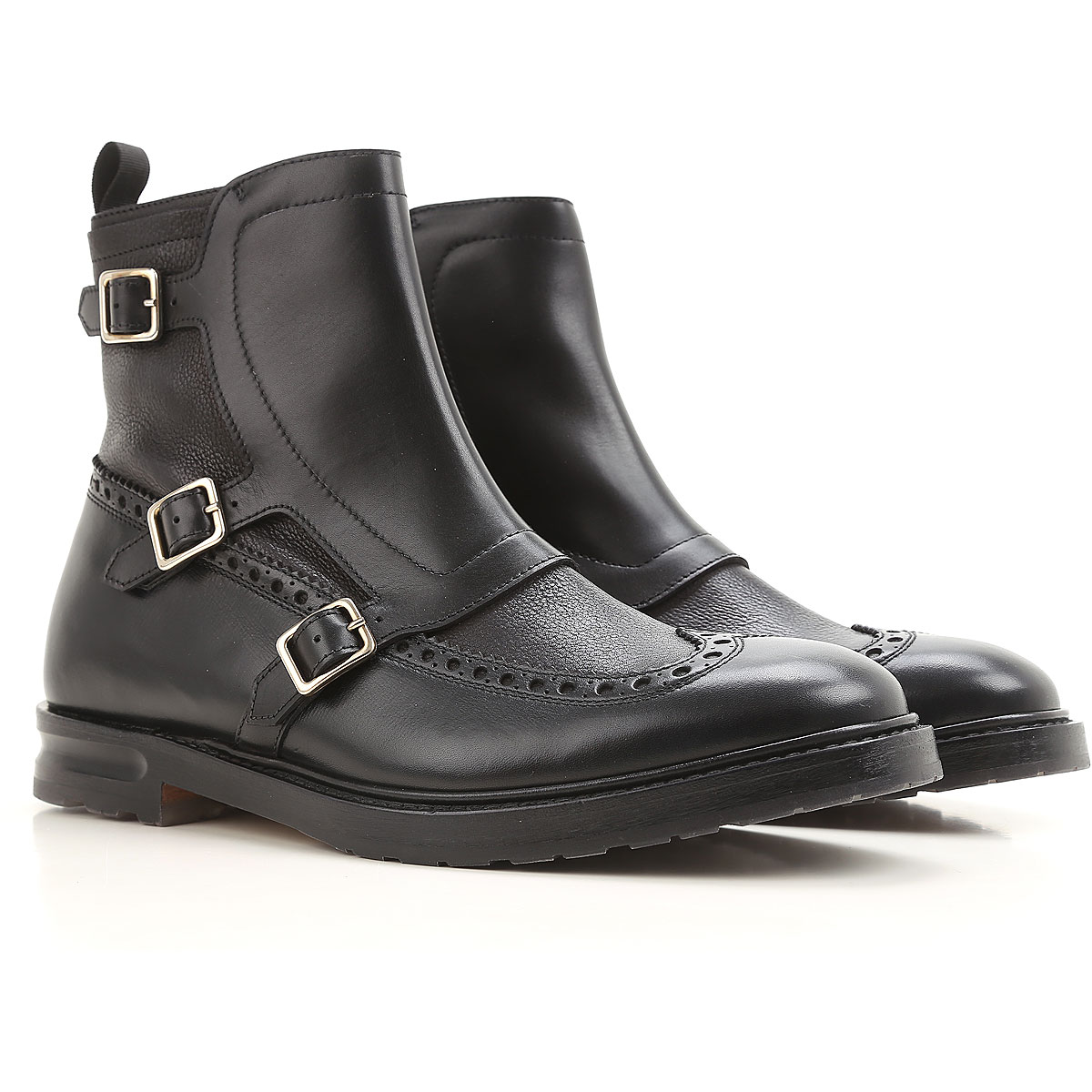 Alexander McQueen Chelsea Boots for Men in Outlet Black USA - GOOFASH