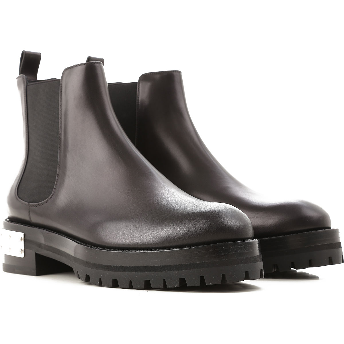 Alexander McQueen Chelsea Boots for Women in Outlet Black USA - GOOFASH