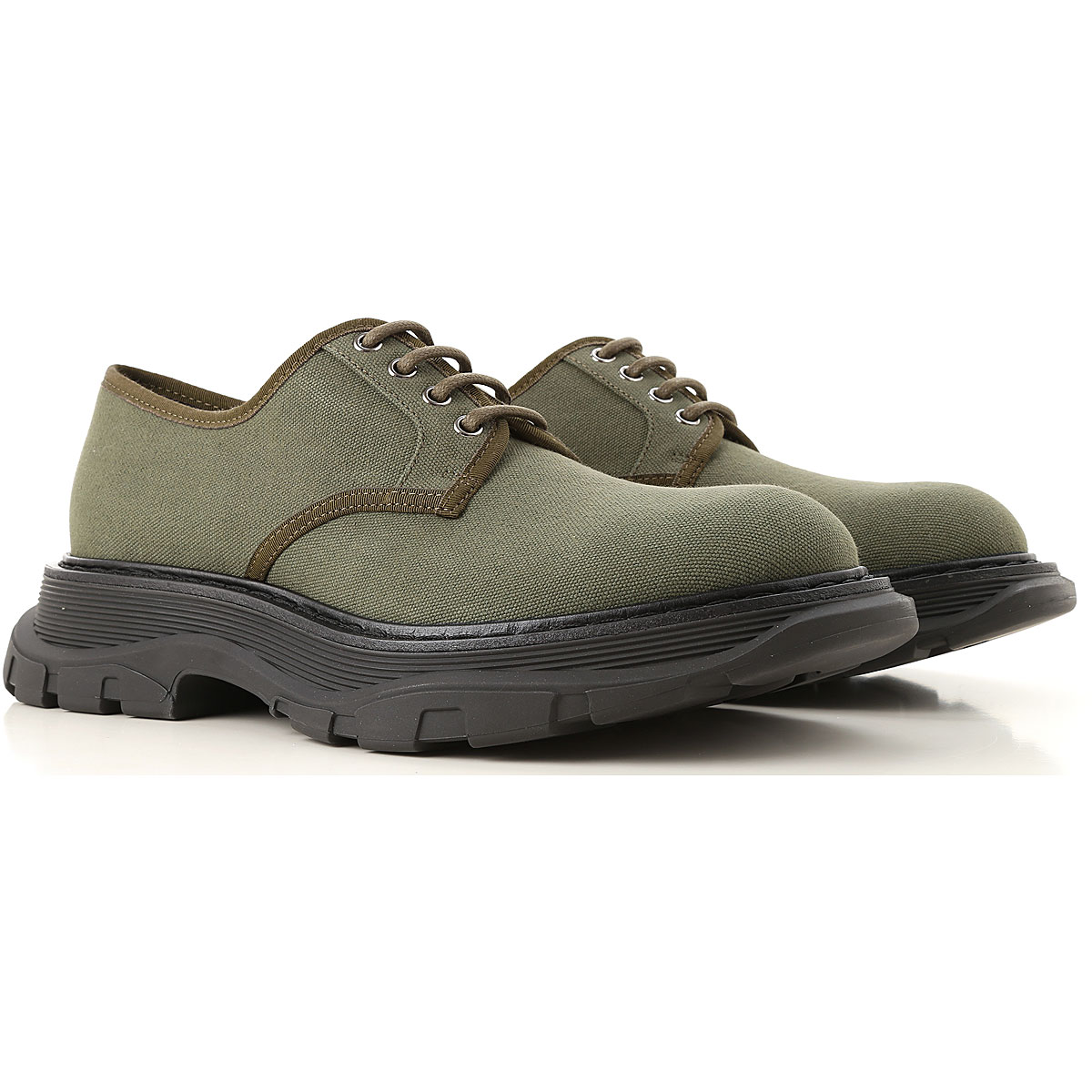 Alexander McQueen Lace Up Shoes for Men Oxfords Derbies and Brogues On Sale USA - GOOFASH