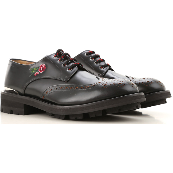 Alexander McQueen Lace Up Shoes for Men Oxfords Derbies and Brogues SE - GOOFASH