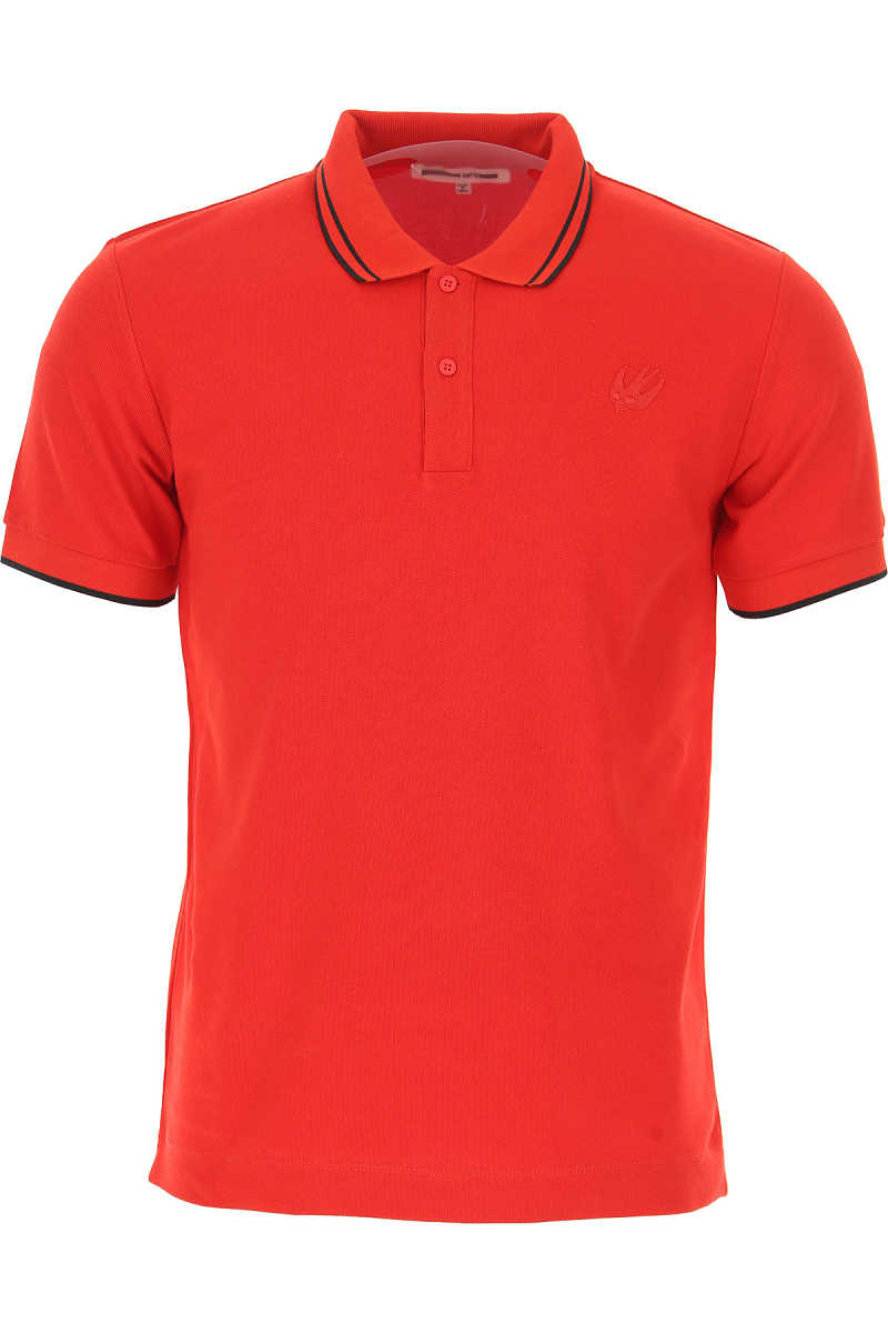 Alexander McQueen McQ Polo Shirt for Men On Sale in Outlet Red SE - GOOFASH