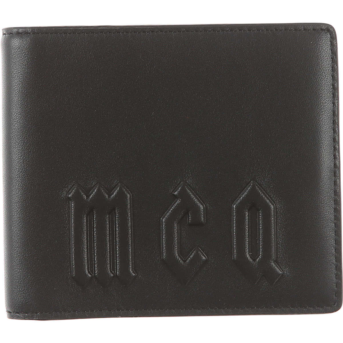 Alexander McQueen McQ Wallet for Men On Sale Black SE - GOOFASH