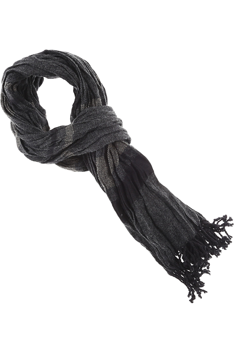 Antony Morato Scarf for Men Black SE - GOOFASH