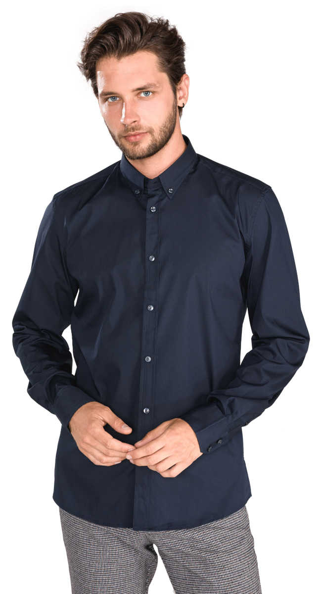 Antony Morato Shirt Blue UK - GOOFASH