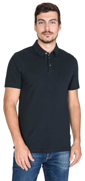 Armani Exchange Polo Shirt Black UK - GOOFASH