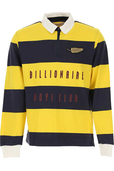 BILLIONAIRE BOYS CLUB Polo Shirt for Men Yellow SE - GOOFASH