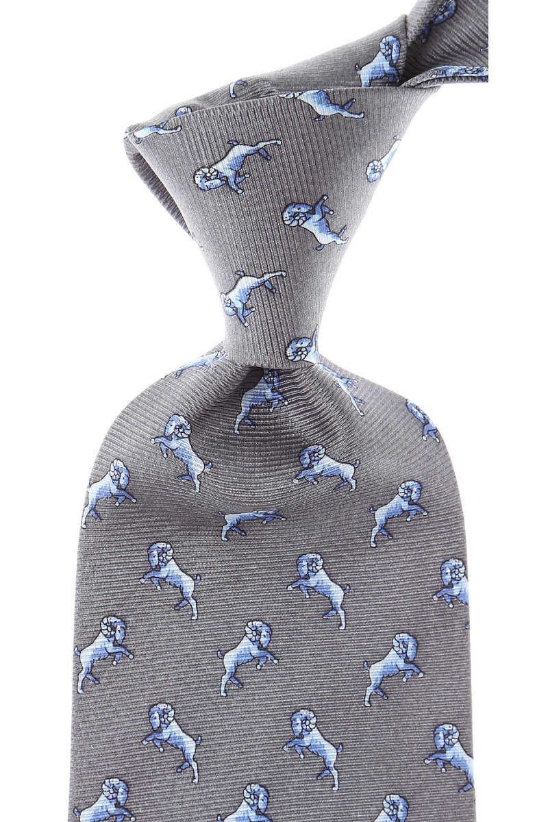 Balmain Ties Graphite USA - GOOFASH