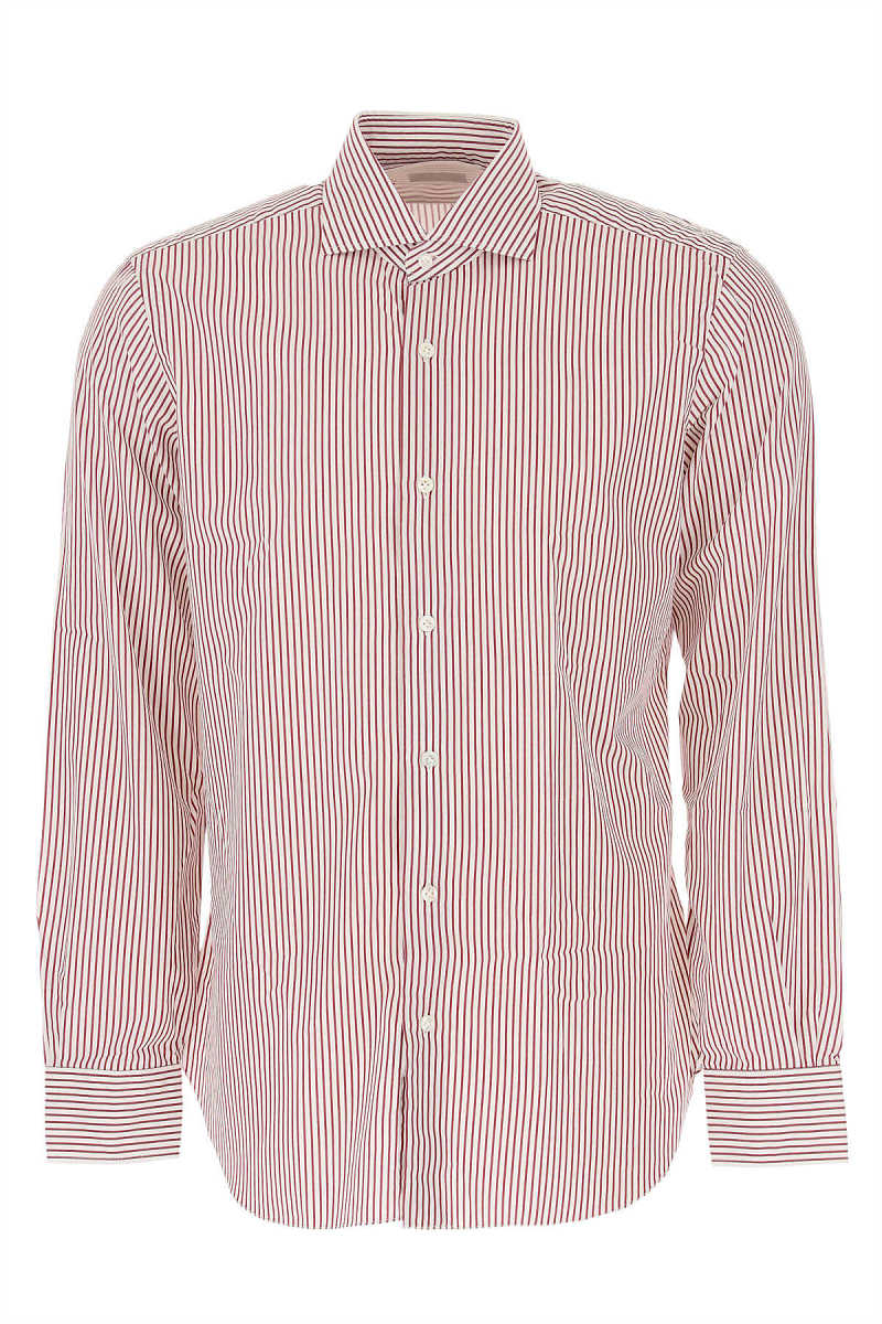 Barba Shirt for Men in Outlet Bordeaux USA - GOOFASH