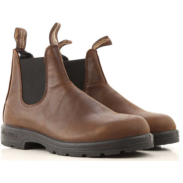 Blundstone Chelsea Boots for Men Brown USA - GOOFASH