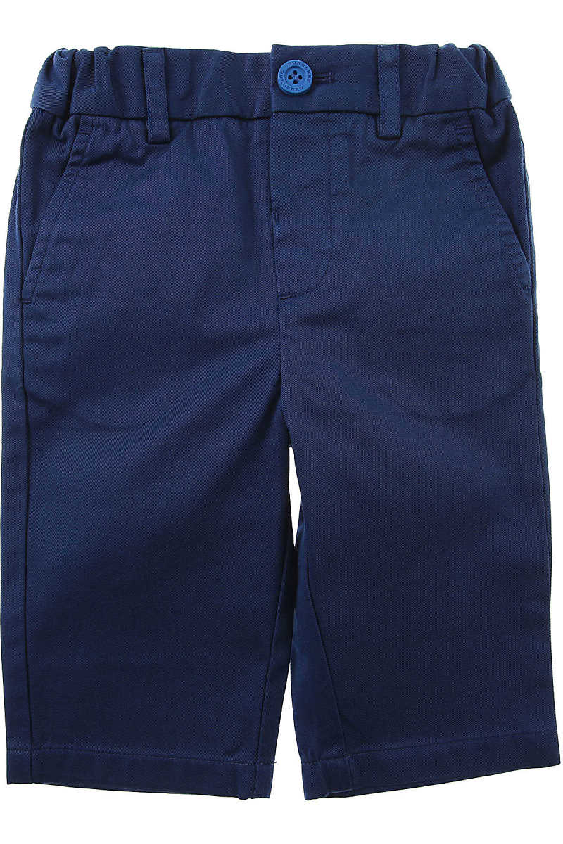 Burberry Baby Pants for Boys On Sale Bright Navy SE - GOOFASH