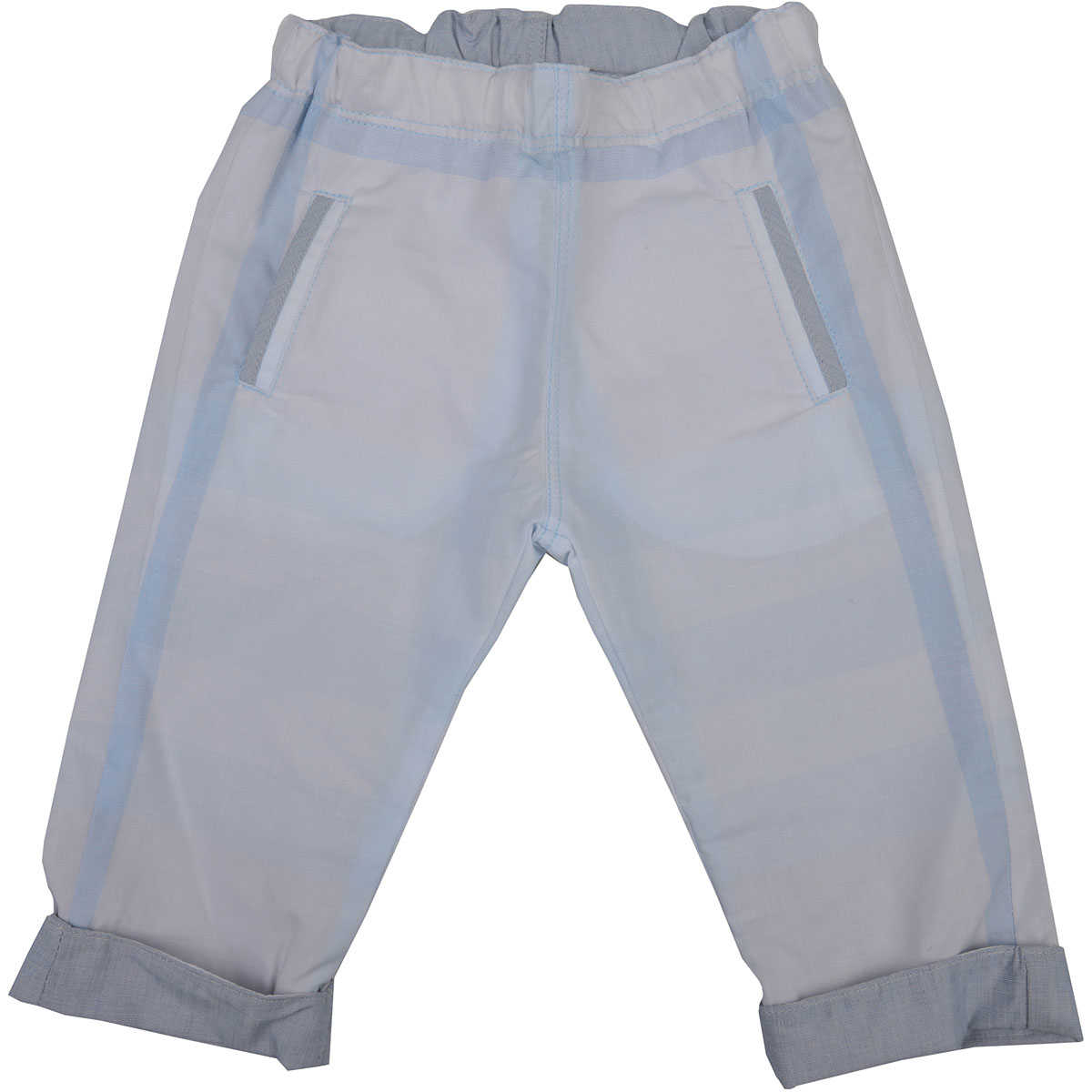Burberry Baby Pants for Boys in Outlet White USA - GOOFASH