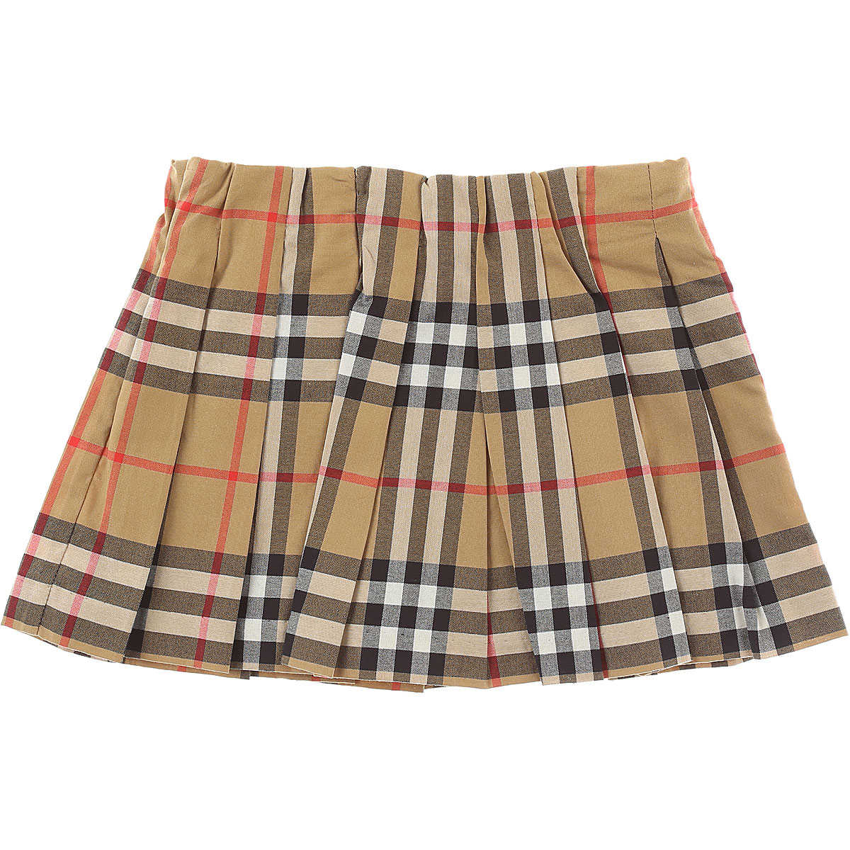Burberry Baby Skirts for Girls On Sale Antique Yellow SE - GOOFASH