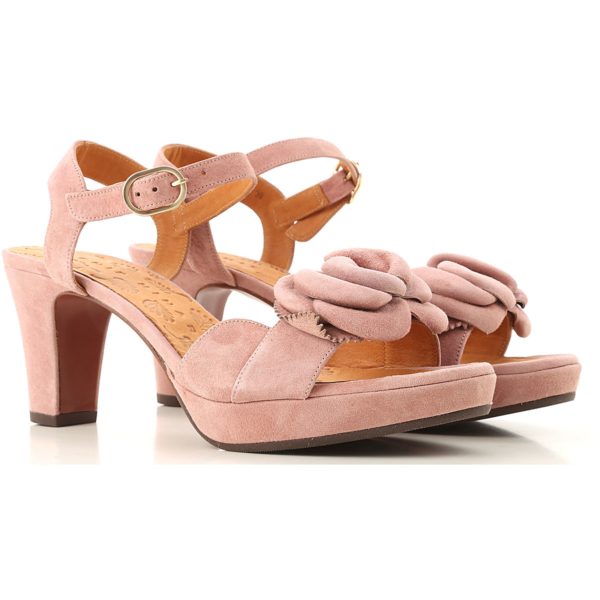 Chie Mihara Sandals for Women Vintage Pink USA - GOOFASH