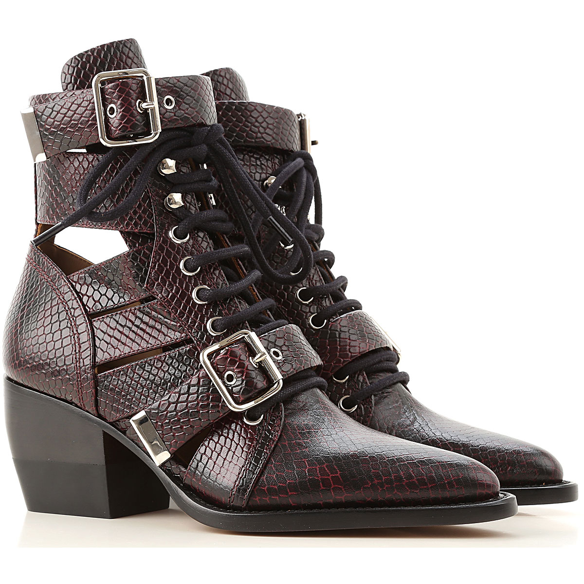 Chloe Boots for Women Booties On Sale in Outlet SE - GOOFASH