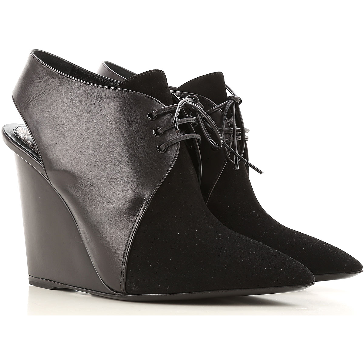 Christian Dior Wedges for Women On Sale in Outlet Black SE - GOOFASH