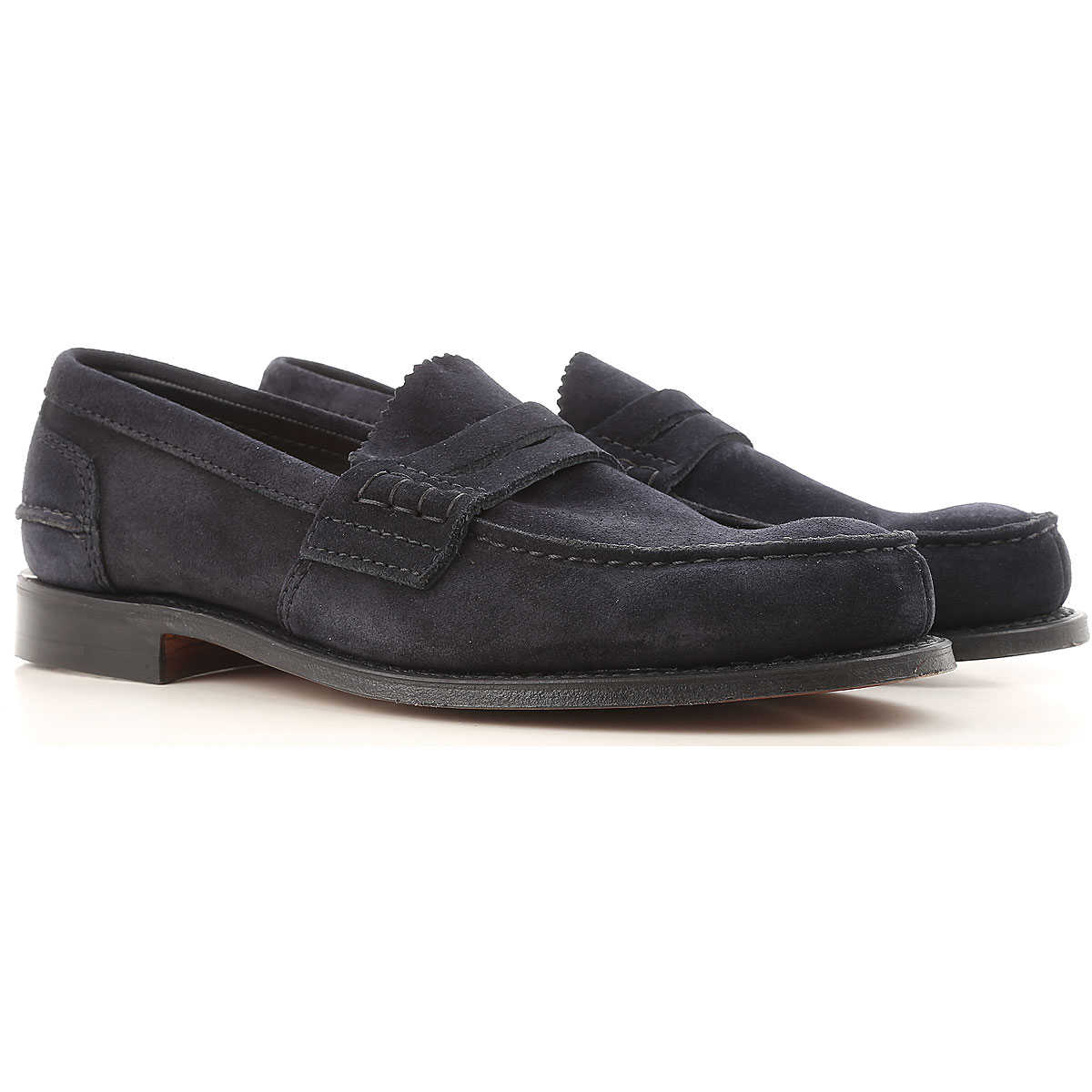 Church's Loafers for Men On Sale Midnight Blue SE - GOOFASH