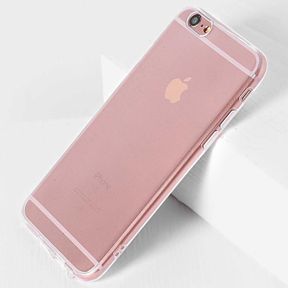 Clear Simple iPhone Case - Shein - GOOFASH