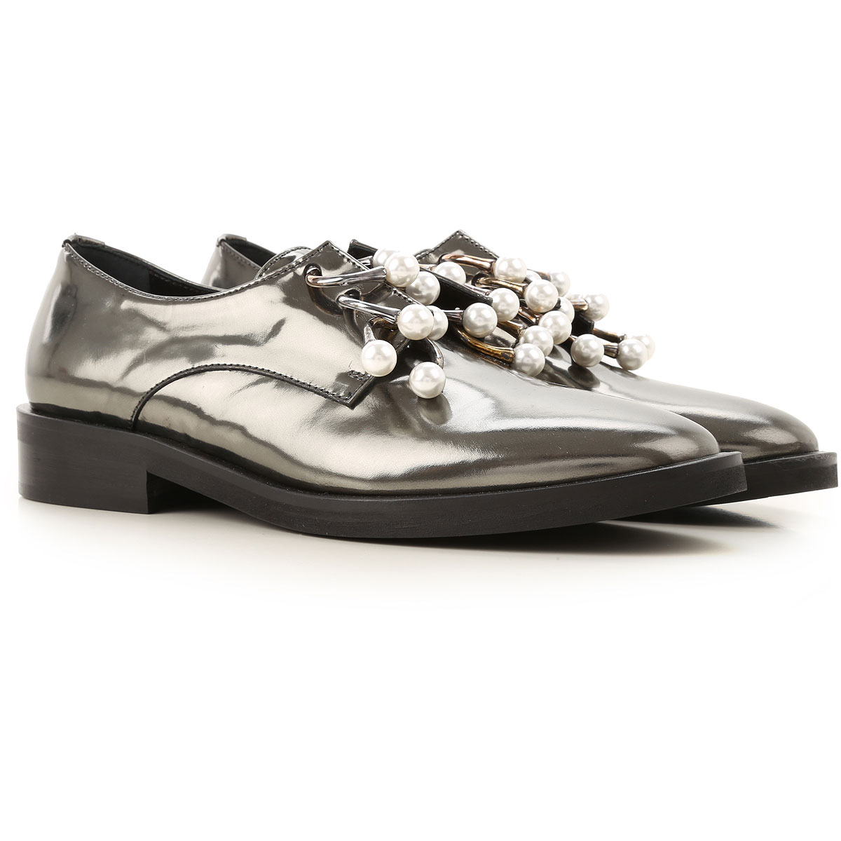 Coliac Loafers for Women in Outlet Silver USA - GOOFASH