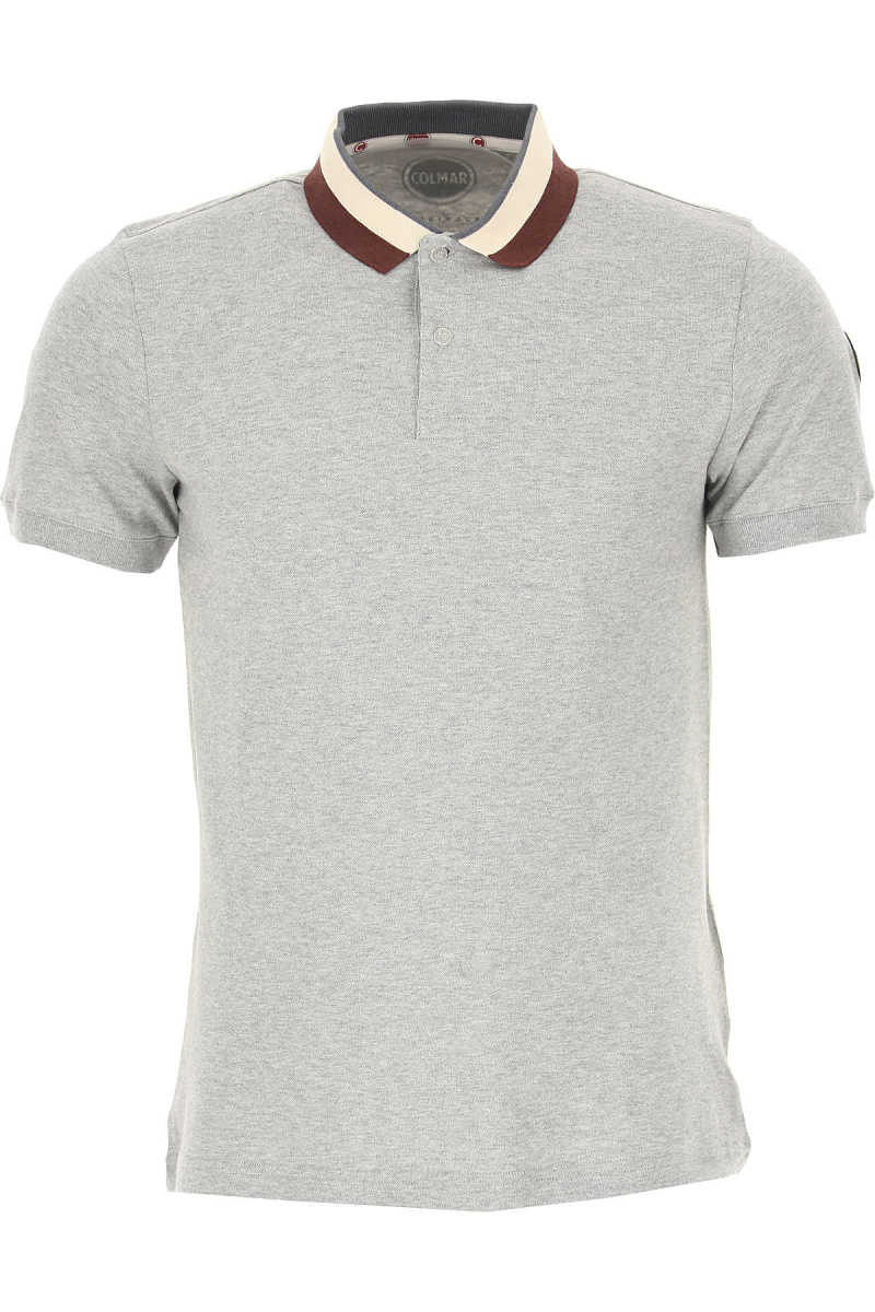 Colmar Polo Shirt for Men On Sale Light Grey SE - GOOFASH