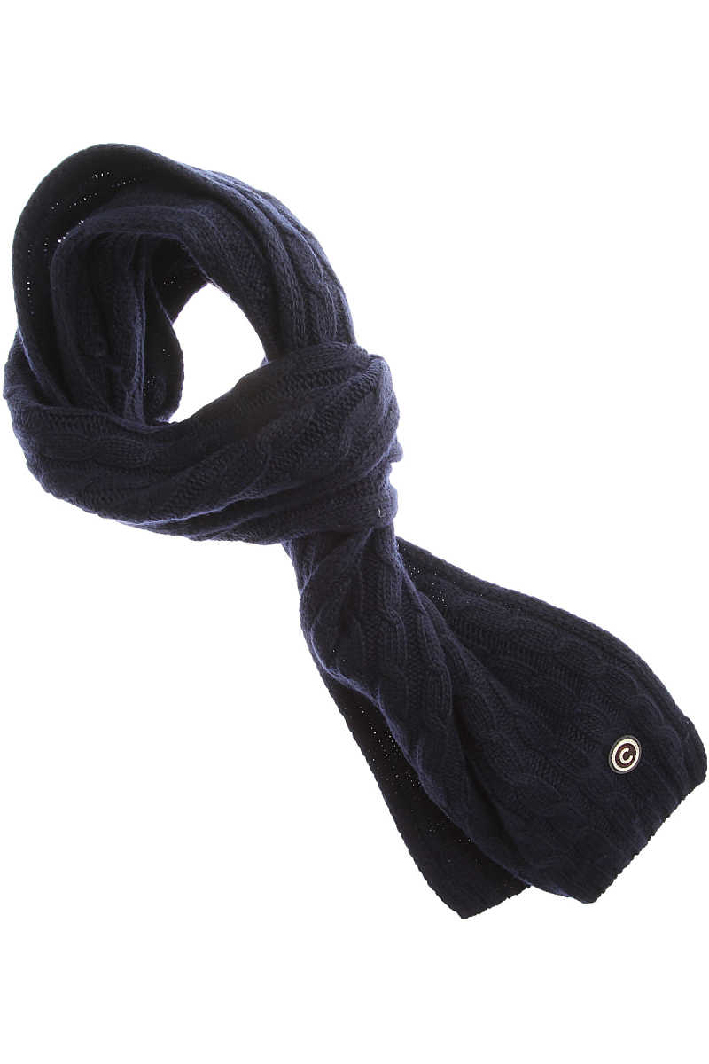 Colmar Scarf for Men On Sale in Outlet Navy Blue SE - GOOFASH