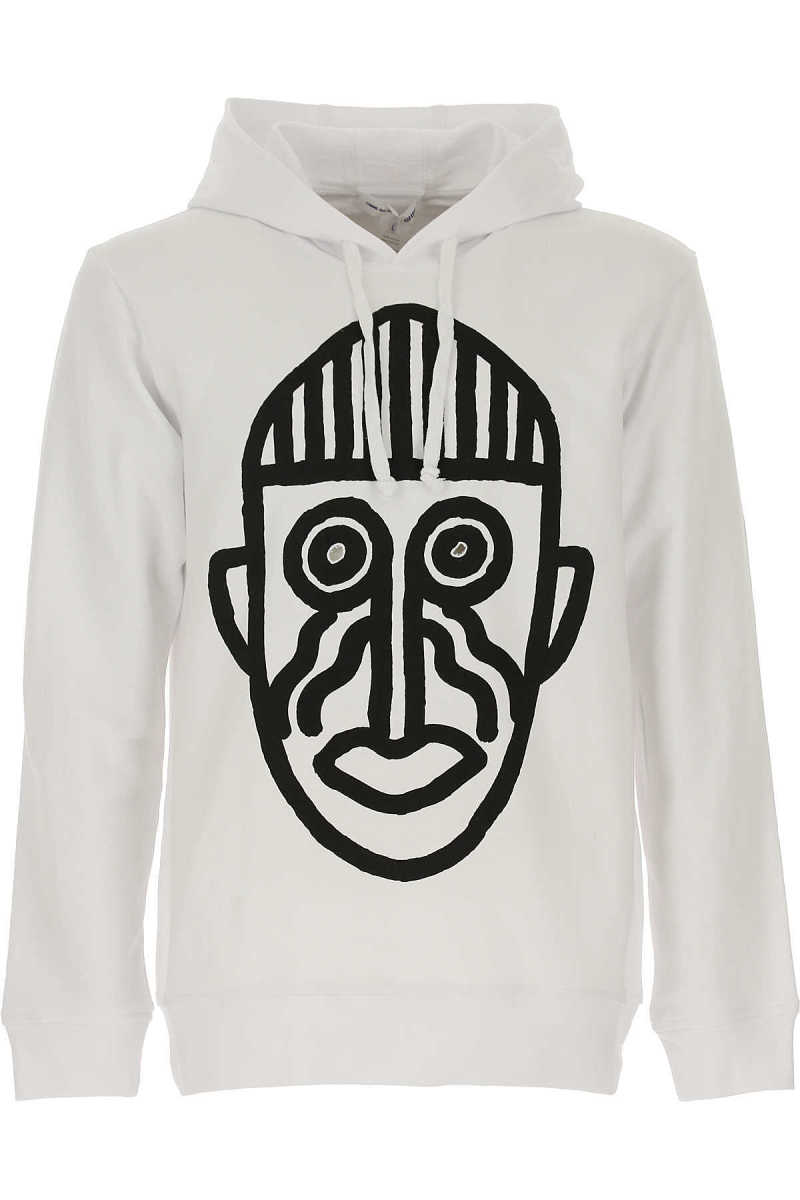 Comme des Garcons Sweatshirt for Men White USA - GOOFASH
