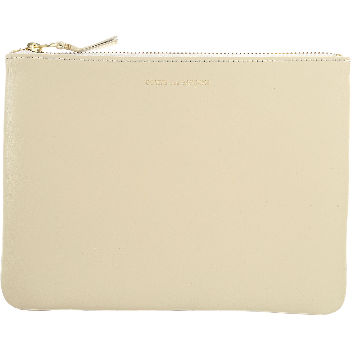 Comme des Garcons Wallet for Women Dirty White USA - GOOFASH