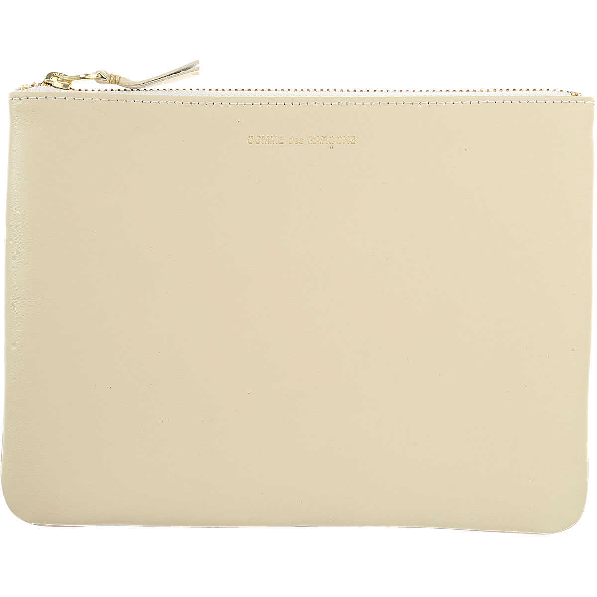Comme des Garcons Wallet for Women On Sale Dirty White SE - GOOFASH