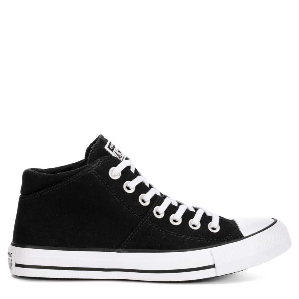Converse Womens Madison Mid True Faves Sneakers Black USA - GOOFASH