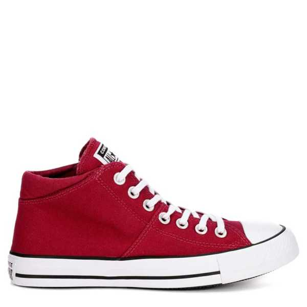 Converse Womens Madison Mid True Faves Sneakers Burgundy USA - GOOFASH