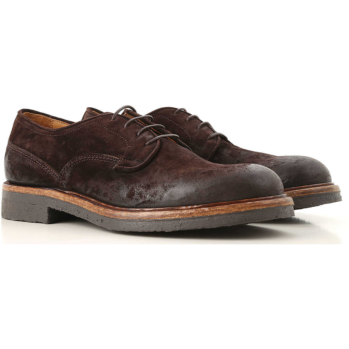 Corvari Lace Up Shoes for Men Oxfords Derbies and Brogues On Sale in Outlet USA - GOOFASH