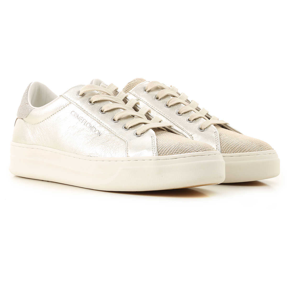 Crime Sneakers for Women On Sale Gold SE - GOOFASH