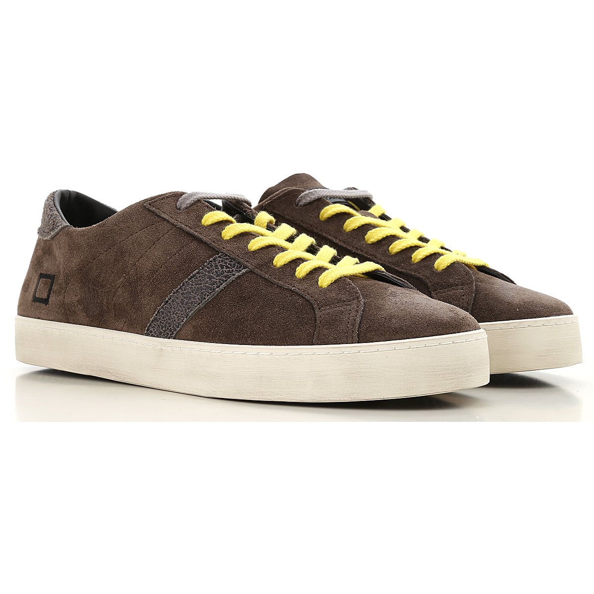 D.A.T.E. Sneakers for Men On Sale Mud SE - GOOFASH