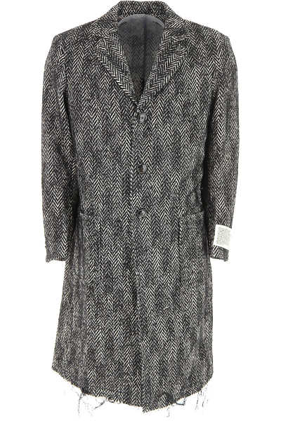 Diesel Men's Coat On Sale in Outlet Black SE - GOOFASH