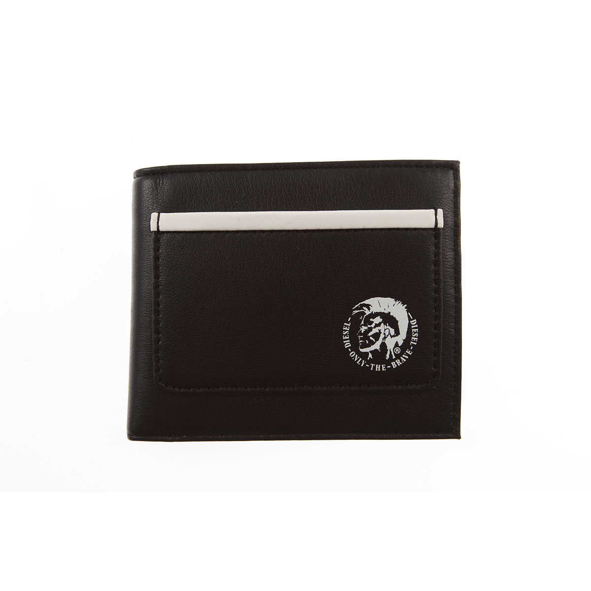 Diesel Wallet for Men On Sale Black SE - GOOFASH