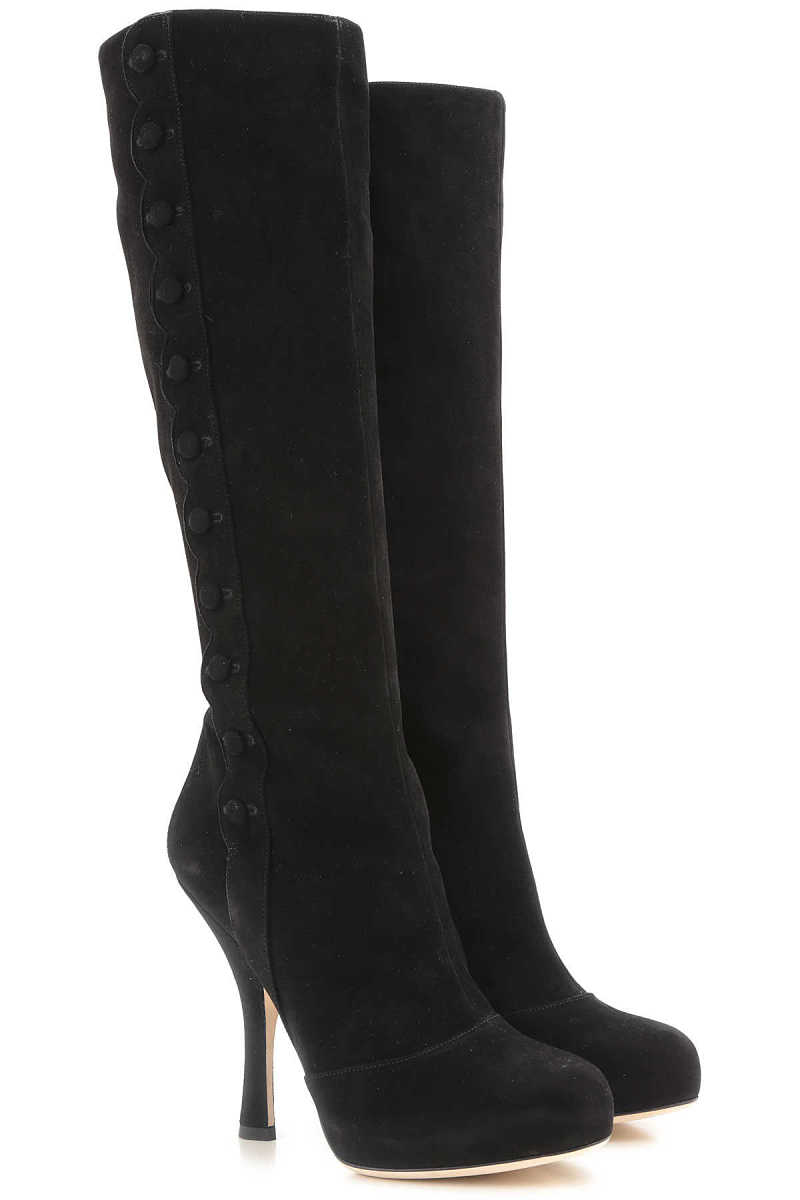 Dolce & Gabbana Boots for Women Booties On Sale in Outlet SE - GOOFASH