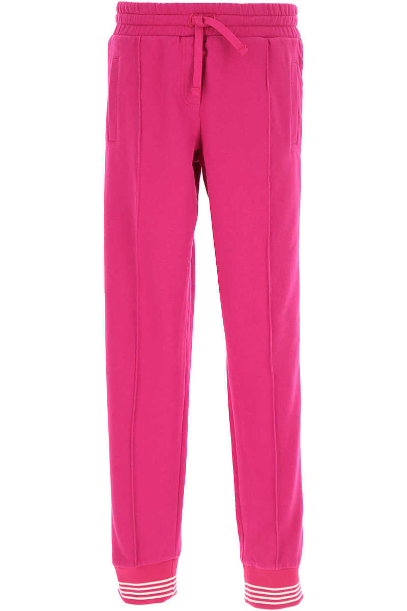 Dolce & Gabbana Kids Sweatpants for Girls On Sale in Outlet Fuchsia SE - GOOFASH