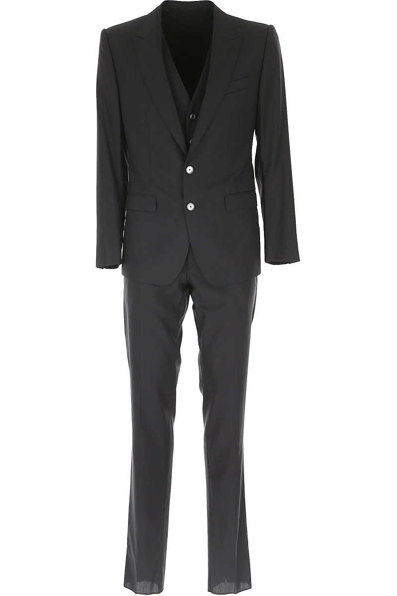 Dolce & Gabbana Men's Suit On Sale in Outlet Black SE - GOOFASH